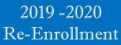 Time to Re-Enroll for 2019 – 2020