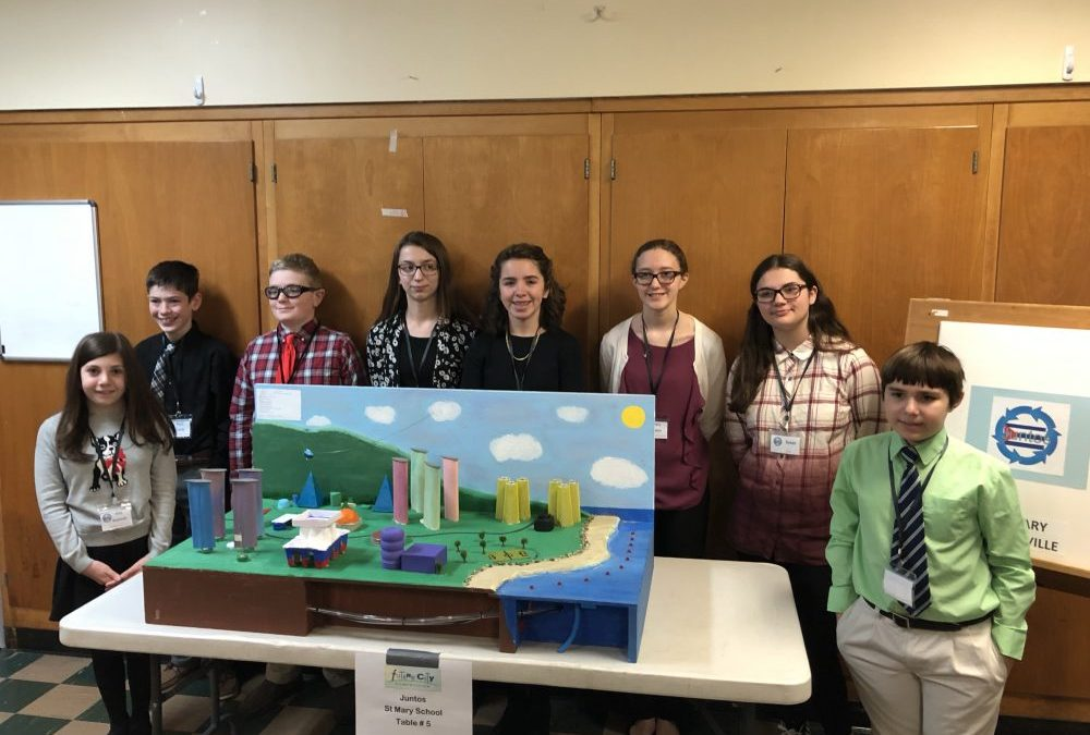 SMS Future City Team Takes Prizes at Engineering Competition