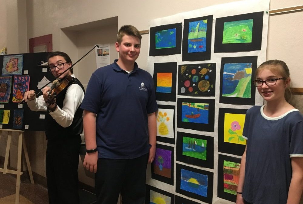 St. Mary School to Host Diocesan Art Exhibition