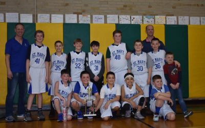 St. Mary's JV Boys Win Championship!