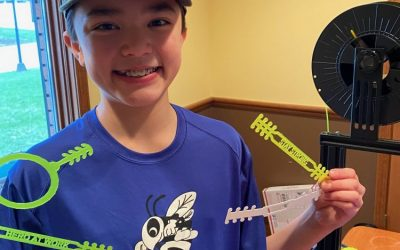 """7th Grade Makerspace to """"716 Ear Savers"""":  SMS Student Provides Relief to Healthcare Workers"""